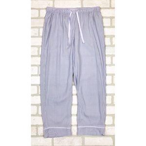 NWOT Gilligan & O'Malley Striped Crop Pajama Pants